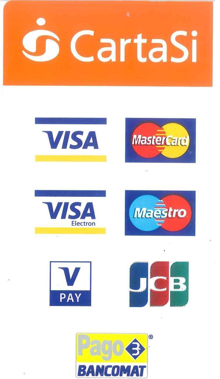 Ufficio Archivi Cartasi.Pagamenti Mediante Bancomat E Carta Di Credito